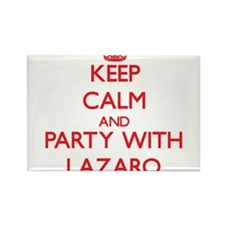 Keep Calm and Party with Lazaro Magnets