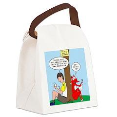 Wild Animal Id Canvas Lunch Bag