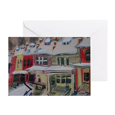 37th Street Glover Park Greeting Card