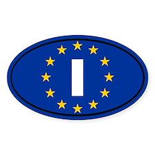 Italy European Union Decal