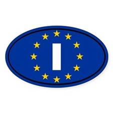Italy European Union Decal