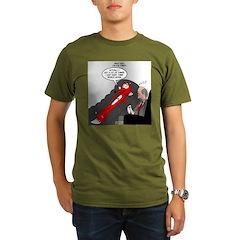 Fox Thinks Organic Men's T-Shirt (dark)