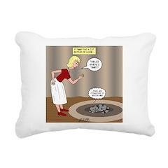 Tinkles - Timmys Cat Rectangular Canvas Pillow
