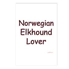 Elkhound Lover Postcards (Package of 8)