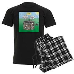Tinkles Saves the Day Men's Dark Pajamas