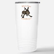 Funny Donkey Travel Mug