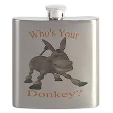Cute Donkey Flask