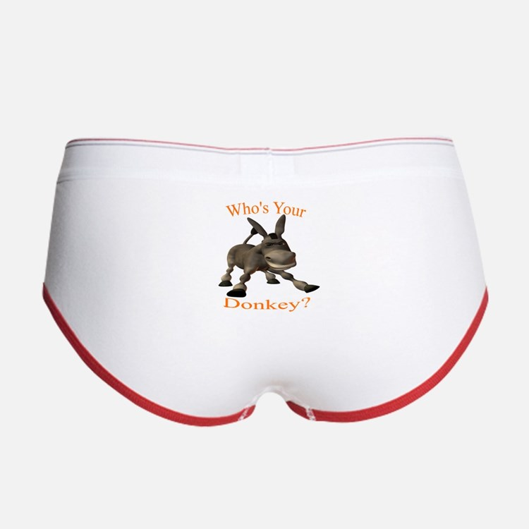 Cute Donkey Women's Boy Brief