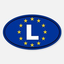 Luxembourg European Union Decal