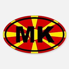 Macedonia flag Decal