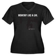 WO-LIKE-A-GIRL-G-10810.psd Plus Size T-Shirt