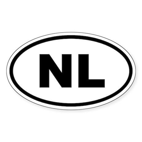 Netherlands NL Sticker