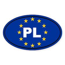 Poland European Union Decal