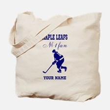 Number 1 Hockey Fan Tote Bag