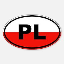 Poland flag Decal