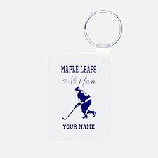 Number 1 Hockey Fan Keychains