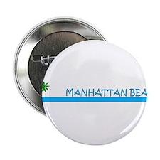 Manhattan Beach, California Button
