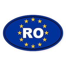 Romania European Union Decal