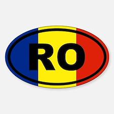 Romania Flag Decal