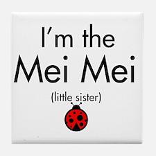Mei Mei Ladybug Tile Coaster