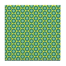 anahata_pattern Tile Coaster