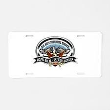 USN Sub Service Iron Steel Aluminum License Plate