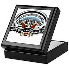 USN Sub Service Iron Steel Keepsake Box