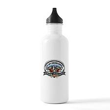 USN Sub Service Iron Steel Water Bottle