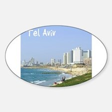 Tel Aviv Beach Decal