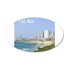 Tel Aviv Beach Wall Decal