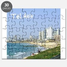 Tel Aviv Beach Puzzle