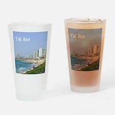 Tel Aviv Beach Drinking Glass