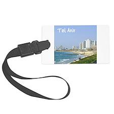 Tel Aviv Beach Luggage Tag