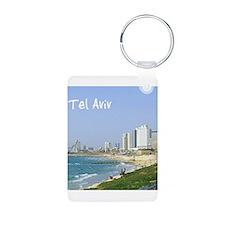 Tel Aviv Beach Keychains