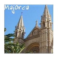 Majorca Church Tile Coaster
