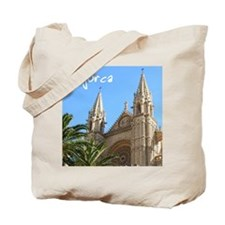 Majorca Church Tote Bag