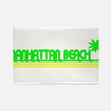 Manhattan Beach, California Rectangle Magnet