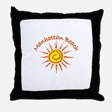 Manhattan Beach, California Throw Pillow