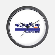 Manhattan Beach, California Wall Clock