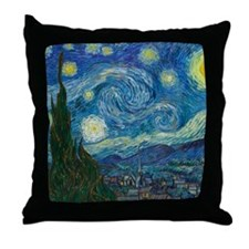 Starry Night (Original) Throw Pillow