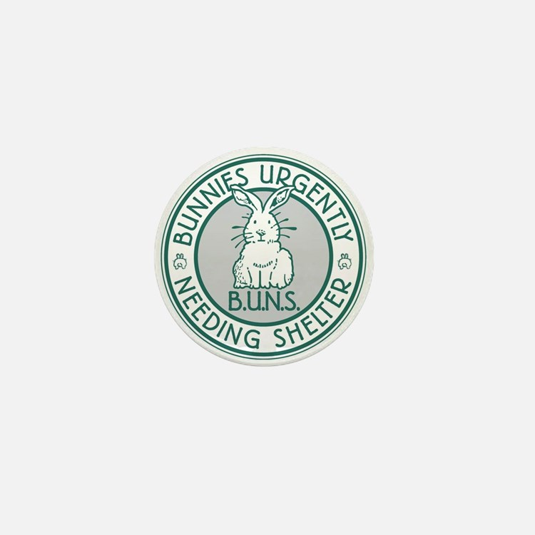 BUNS Logo (Green) Mini Button