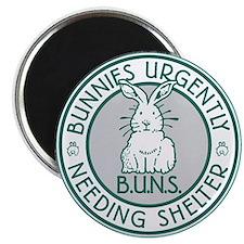 BUNS Logo (Green) Magnets