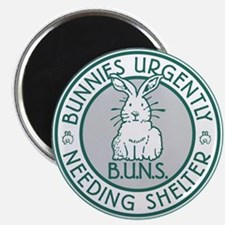 BUNS Logo (Green) Magnets