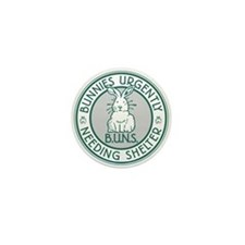 BUNS Logo (Green) Mini Button (10 Pack)