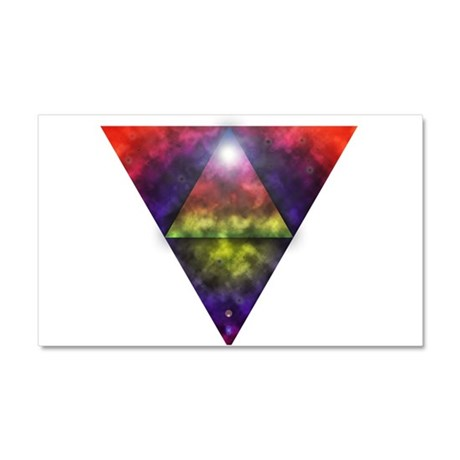 Triangle Car Magnet 20 x 12