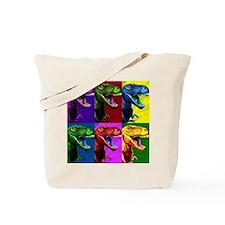 Dinosaur Popart Tote Bag