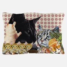 Creative Cats Pillow Case