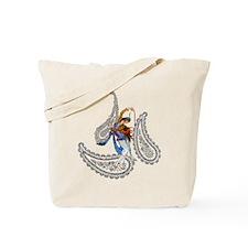 Persian Paisley Dancer Tote Bag
