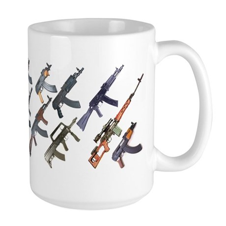 Large Ak47 Mug Mugs