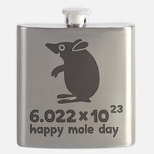 Cute Moles Flask